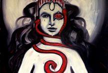 The Art of Teal Marie Chimblo Fyrberg / Art works of fine artist Teal Marie Chimblo Fyrberg, of Asheville, North Carolina.