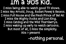 Things I miss about childhood...