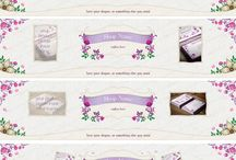 Etsy shop banner set