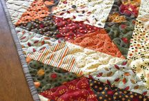 Quilting for kitchen, table & wall / by Ginger McMichael