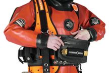 Commercial diving harnesses / Professional diving harnesses