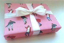Gifts, wraps.