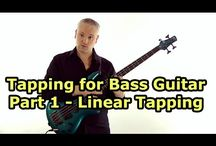 Tapping For Bass Guitar - Talkingbass / These lessons cover the tapping technique for bass guitar
