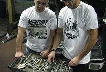 estudio161pin / Camisetas carros antigos e instrumentos musicais