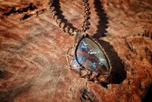 Tribe Inspired Boulder Opal Jewelery
