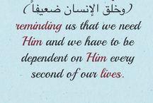 love allah / Trust allah