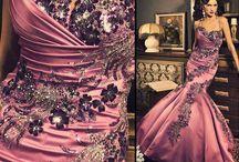 Společenské šaty - růžová