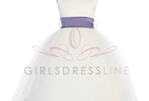 Wedding - Flower Girls and Ring Bearers Attire. / Flower girl dresses, ring bearers outfits and possible ring pillows.