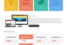 _Web design responsive theme html5 / - wire frame - label - check box - input text