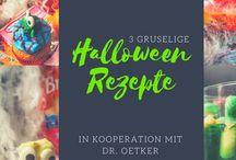 Rezepte | Halloween / Gruselige Halloween Rezepte – jede Menge Rezepte für deine Halloween Party. Geister, Monster und Ekel-Rezepte.