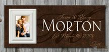 Personalized Family Established Signs / Personalized wood family name signs are great wedding and anniversary gifts