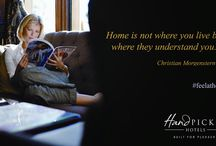 Hand Picked Guest Experiences / At Hand Picked Hotels we want our guests to: be at home, indulged, captivated and inspired. / by Hand Picked Hotels