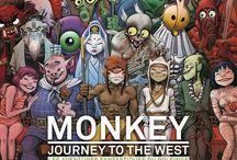Viaje al Oeste - Las aventuras del Rey Mono. / Todo lo relacionado con Viaje al Oeste  ,