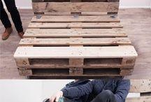 Sofá de palé