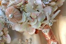 свадьба-морская,сине-белая