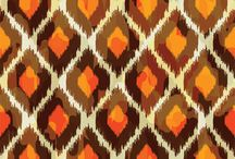 Ethnic wall paper