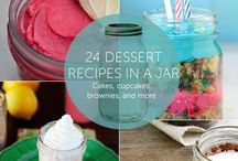 Cook or Gift w/ a JARRING surprise / Canning/Jarring...ways to do such & gift giving in a JAR / by Jane Rausch