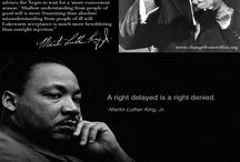 I Have A Dream... Martin Luther King, jr / Celebrating the brilliant man, MLK, and his hard works.