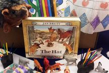 The Hat by Jan Brett - Ivy Kids kit Dec. 2016 / Math, Science, Literacy, and Art activities inspired by the book The Hat by Jan Brett