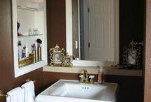 My gold bathroom!