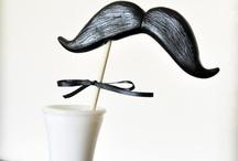 thème mariage: la moustache