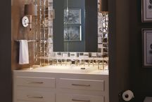 Jewelry for Your Walls: Sideview Glass Mosaics by Crossville / This opulent collection of glass mosaic wall tile is born of art deco inspiration and thoroughly modern sensibilities. Bold beveling, metallic hues, two sophisticated finishes... Enjoy the Sideview!  http://www.crossvilleinc.com/contract/products/glass/sideview_glass