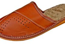 Dash Genuine Leather Men's House Slippers