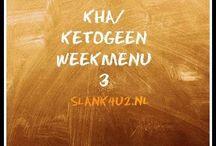Weekmenu KHA