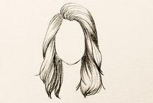 desenhos de rostos