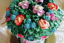 The Bouquet Cake