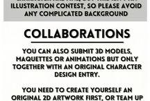 concurso de diseño de personajes