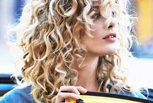 Curly haired