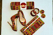 chaussures  et sacs africains