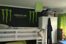 Monster Energy Bedroom / Monster Energy Bedroom