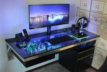 Desk & studio
