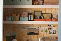 Craft Rooms / by Rebecca Cox