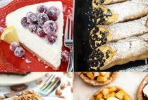 Desserts recipies to try