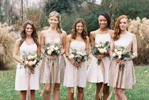 Bridesmaid Inspiration / Petite Bouquet Bridesmaid Inspiration