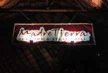 Madre Tierra / En el corazón de la 5ta Avenida, bajo una imponente palapa, se encuentra Madre Tierra, dónde vas a disfrutar de lo más selecto en carnes, pescados y mariscos cuidadosamente preparados, así como una extensa selección de vinos de México y del Mundo.