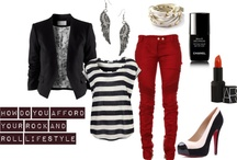 Outfits / by Ashley Wilson