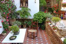 Zahrady Balkóny