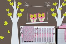 Baby Nursery Ideas / This board has ideas for baby nurseries from colors and fabrics to accessories and furniture.
