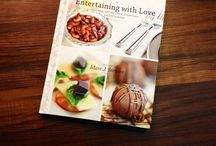 Entertaining with Love ~ A Life-Style Cookbook / Enjoy fabulously flavorful recipes, fun anecdotes, and tried-and-true chic rules of entertaining with me as your guide. Entertaining with Love will surely be your most favored companion for savvy home cooking and entertaining!  Here is a sampling of the recipes included in the book.
