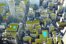 Univers : Eco-City/ Vertical Farming