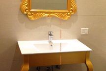 Glam up your Bath with MIRRORS!
