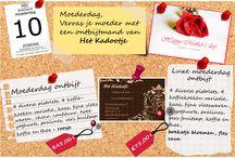 Moederdagactie - Het Kadootje / Banner & Flyer voor Het Kadootje, voor moederdag