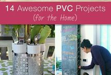 PVC pipe DIY idea