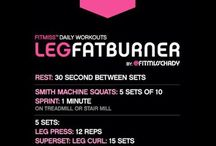 Leg workouts / Workouts for toning, strengthening, and building more muscle in your legs.