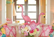 Kids party ideas / Flamingo