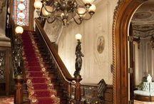 Victorian house interior